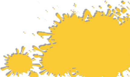 Yellow Splatter - Background Art