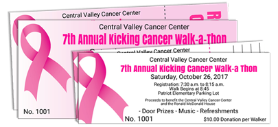 Breast Cancer Awareness Ticket