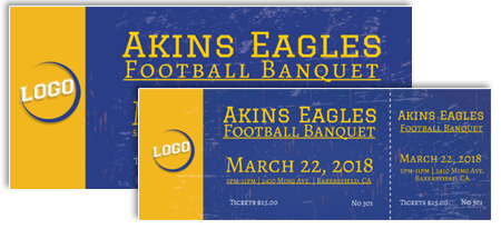 Fundraiser templates for sports banquets
