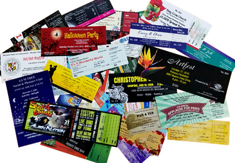 Best Ticket Printing - Create professional tickets for your next event