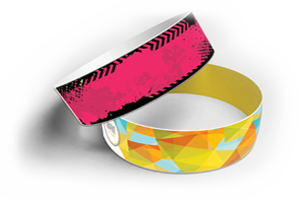 Custom Tyvek Wristbands - Best Ticket Printing